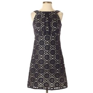 Phoebe Couture Vintage Look Black & White Dress